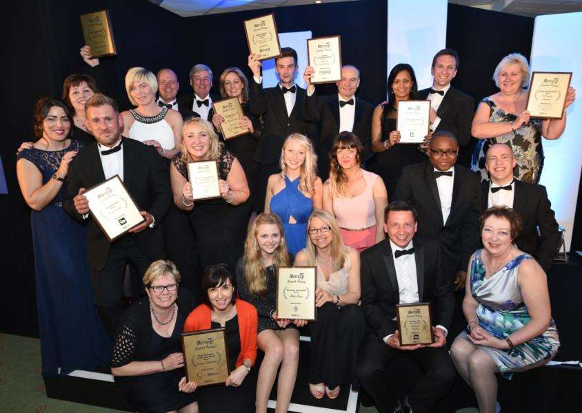 Stamford Mercury Business Awards 2015 winners group EMN-150516-004451009