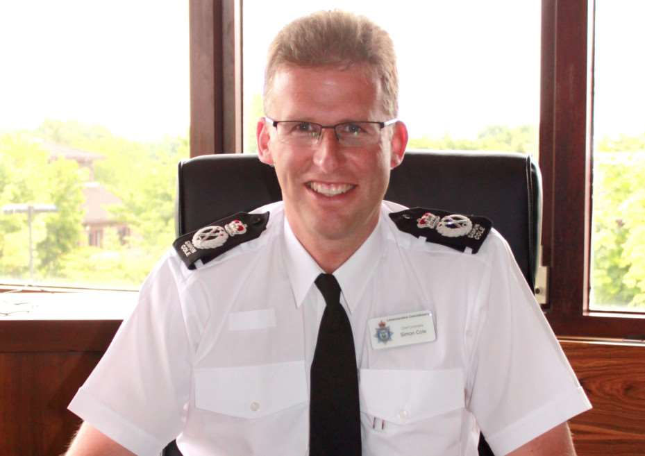 Leicestershire Police chief constable Simon Cole