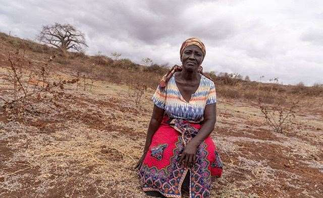 Rose is one of many people in Kenya whose life has been affected by climate change