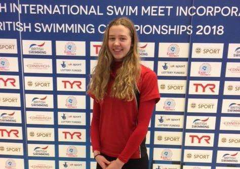 Deepings' Isabel Spinley ready to race at the 2018 British Championships