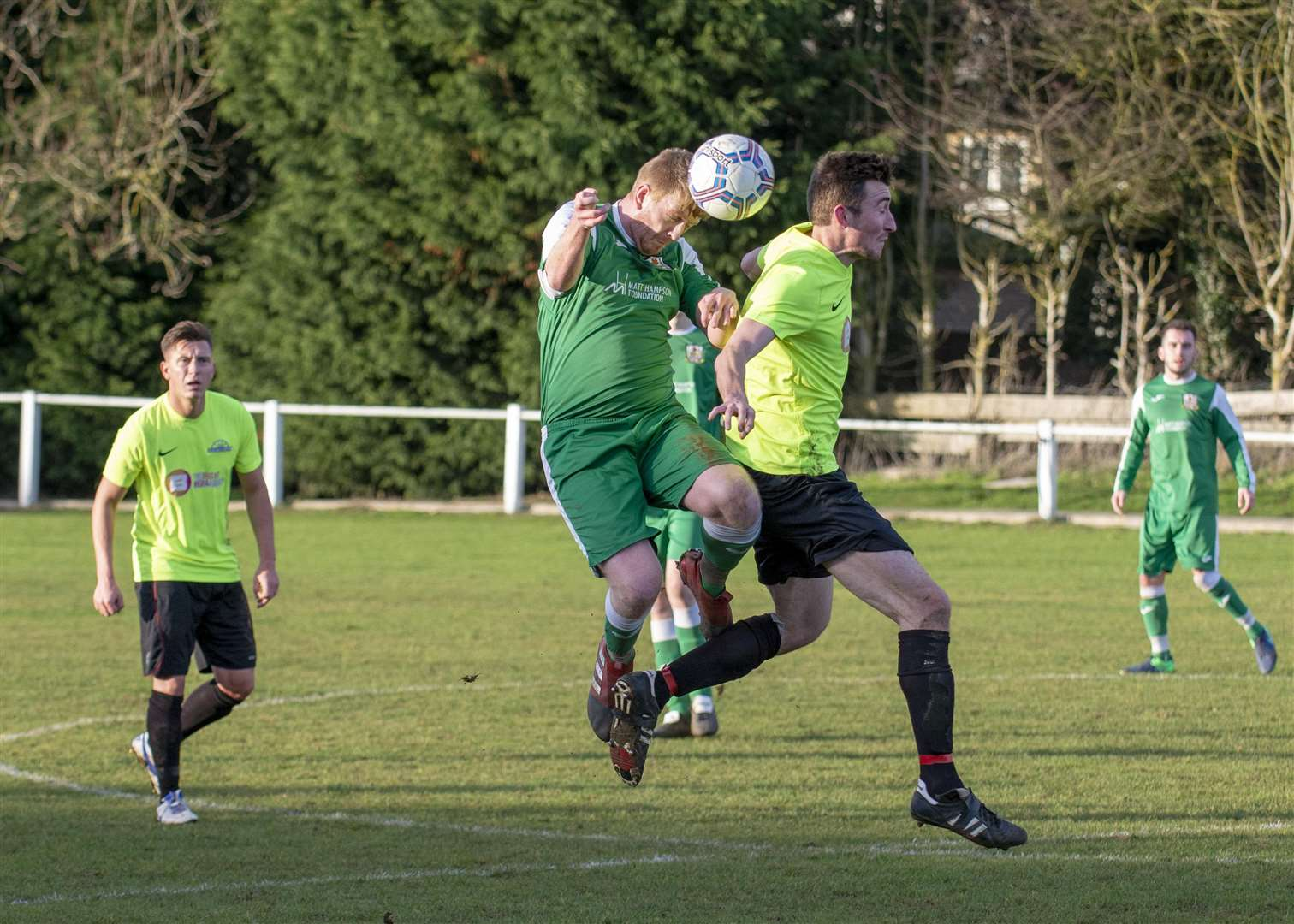 Cottesmore suffered a 3-0 home defeat in their last outing against Desford. Photo: Lee Hellwing (6446718)