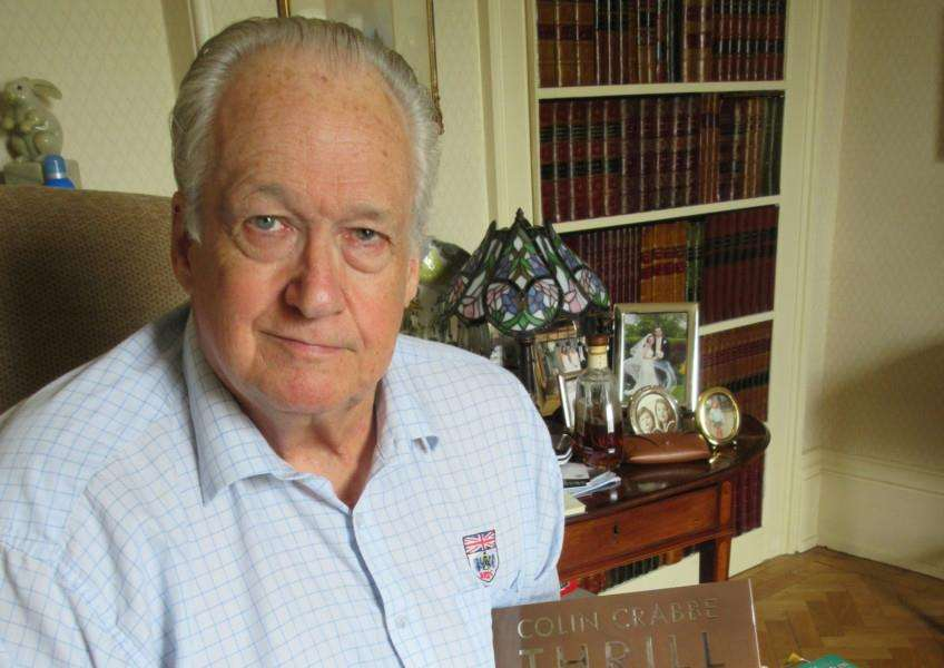 Colin Crabbe, from Baston, is publishing a 450-page autobiography
