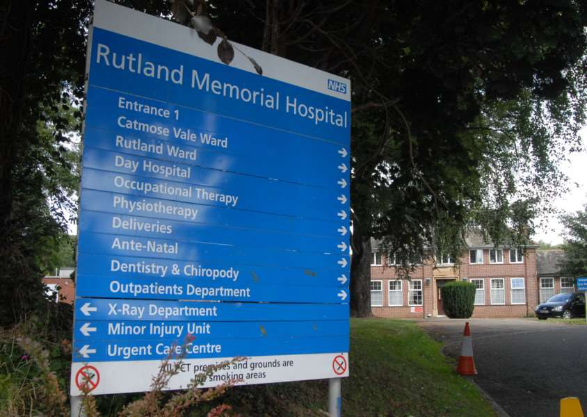 Photo: MSMP240812-030ow'Rutland Memorial Hospital, Oakham. File picture. EMN-161121-105906001
