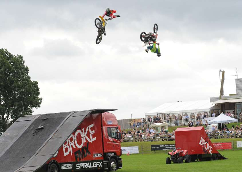 Lincolnshire Show 2016. Broke FMX display in the main ring.