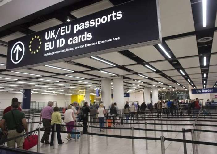 UK airport immigration