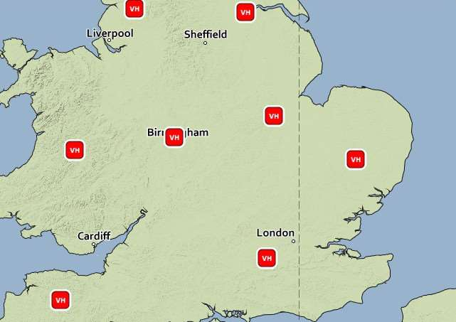 Met Office warning over very high pollen counts today, Tuesday