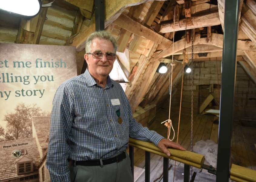 Sacrewell Mill re-opens after refurbishment. Peter White, whose dad worked at the mill EMN-150719-230453009