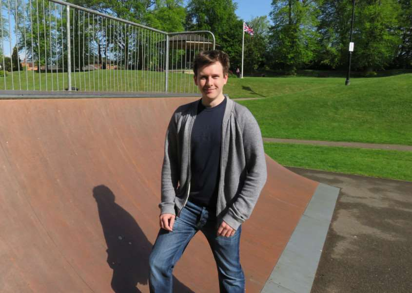 Alex Jordon, from Oakham, has launched crowd-sourcing website The Skateparks Project. EMN-150206-165814001