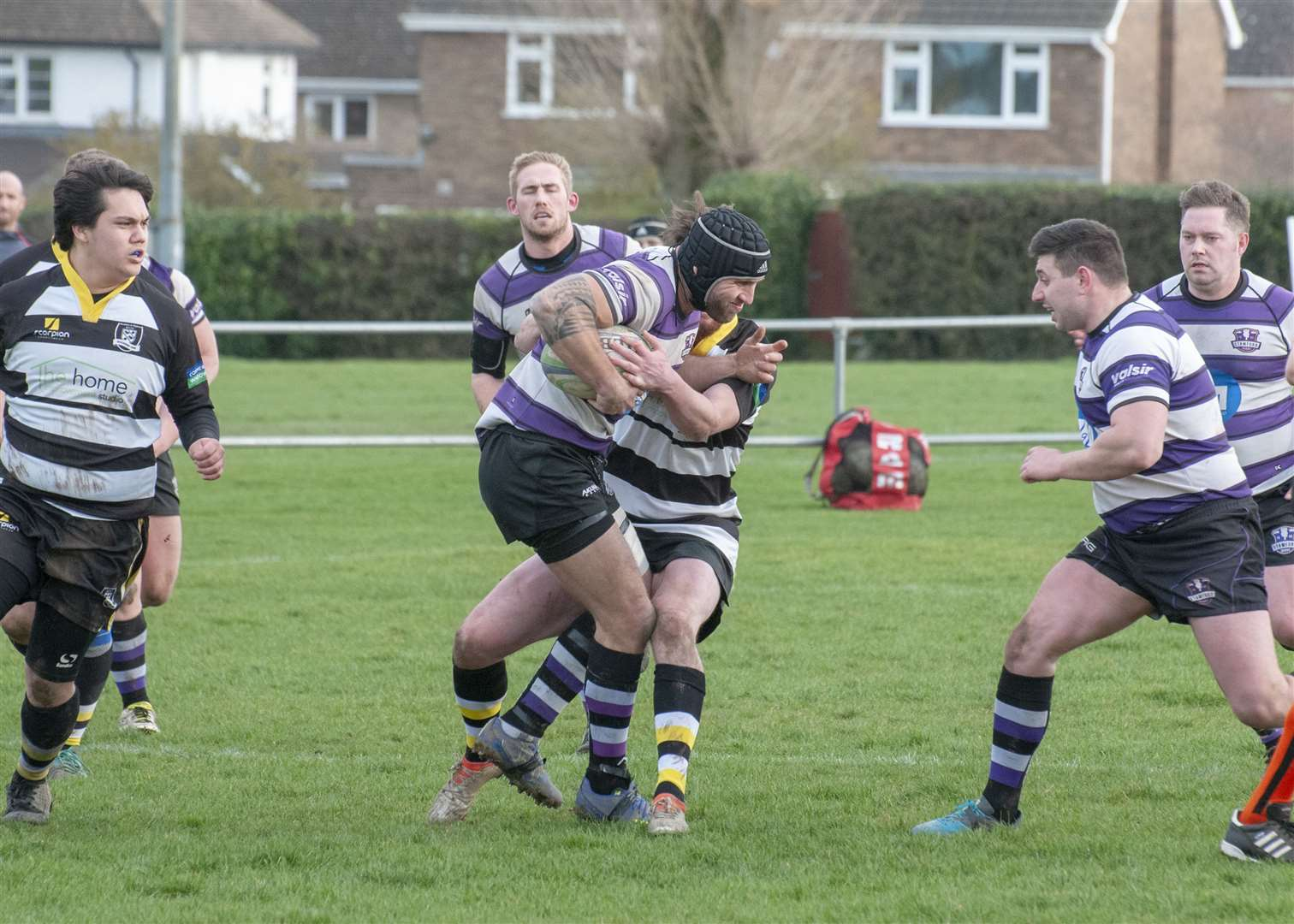 Stamford defeated Rushden & Higham 53-15 on Saturday. Photo: Lee Hellwing (7667476)