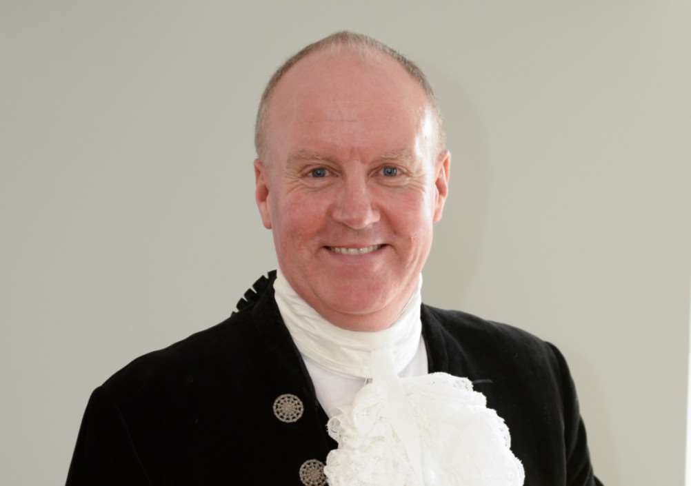 Andrew Brown new High Sheriff of Rutland. Photo: Alan Walters EMN-150204-160351001