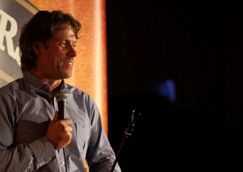 John Bishop at the RAF Wittering Comedy Night EMN-150513-132952001
