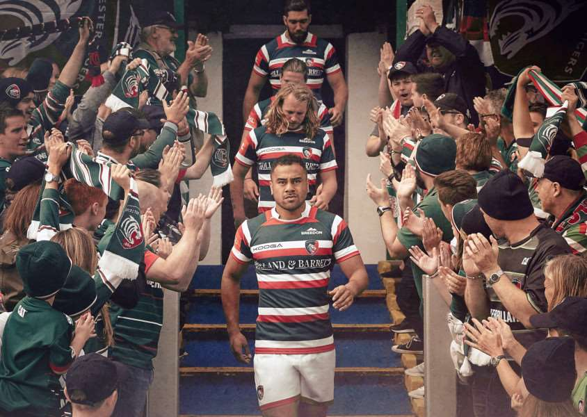 Leicester Tigers launch new kit EMN-160816-172329001