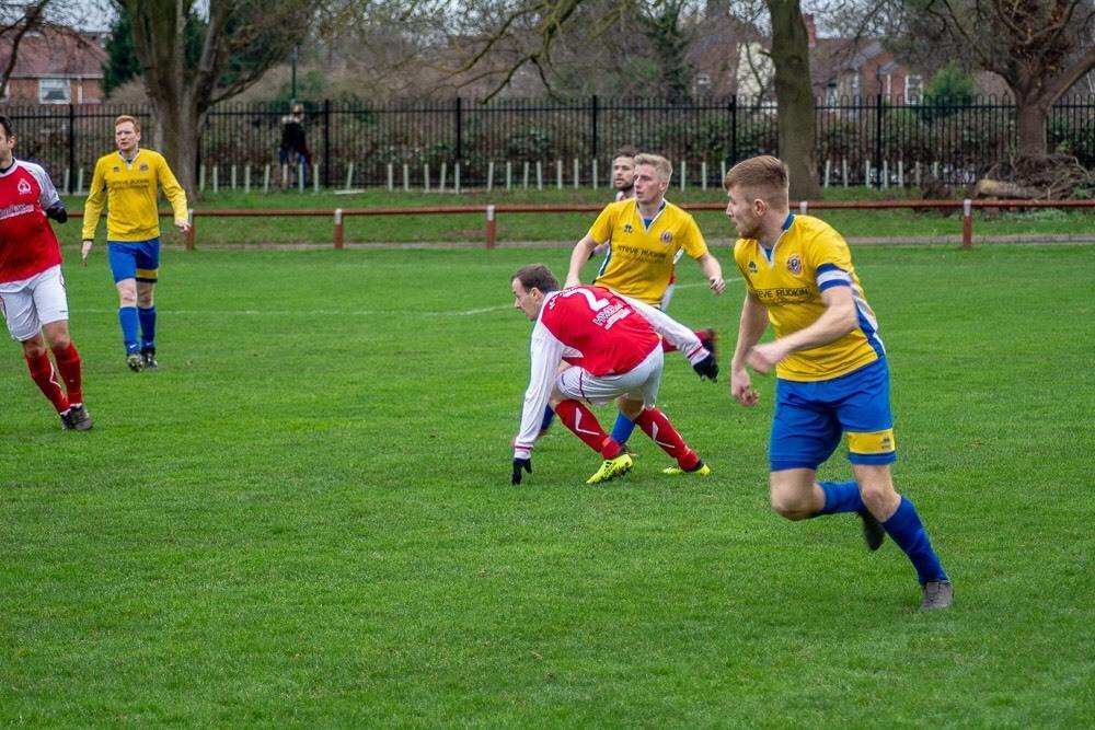 Match action from Stamford Lions' victory over Peterborough Polonia. Photo: Dan Allen (6389242)