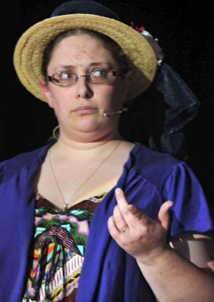 Rachael Barnes, one of the Deeping Gang Show producers. Photo by Tim Wilson.