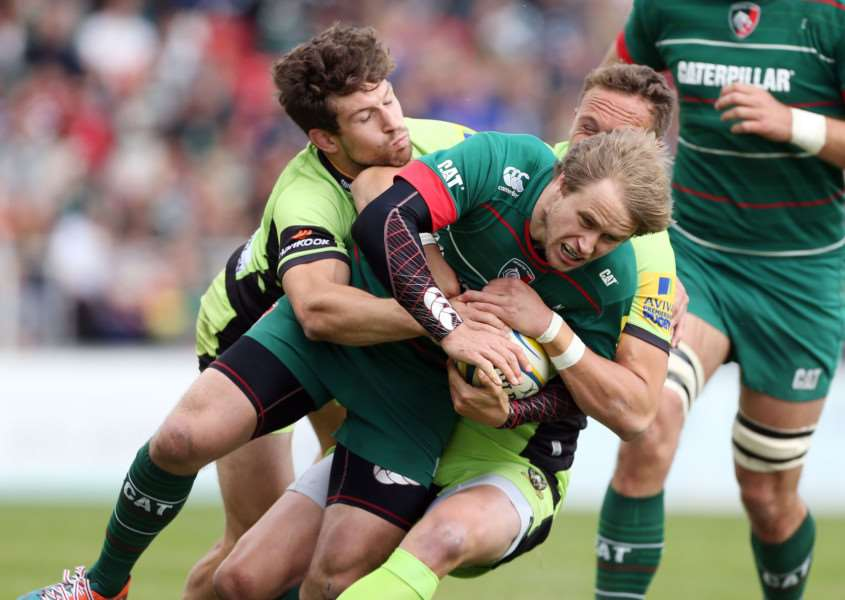Leicester Tigers v Northampton Saints. Photo: David Davies/PA Wire EMN-150518-151501001