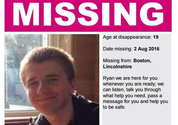 Have you seen missing Ryan Young?