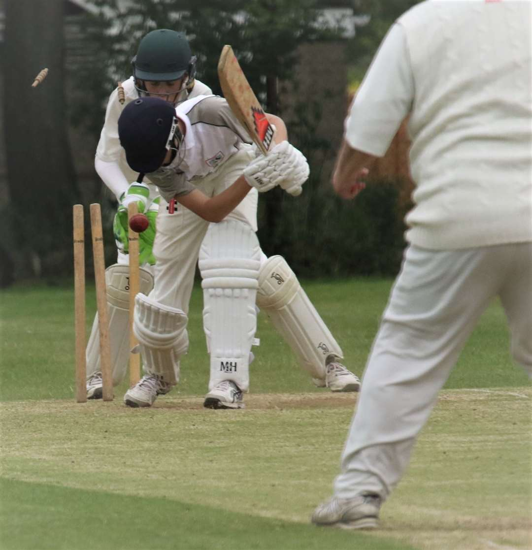 Oakham 2nds were comfortable winners against Cosby in Division Five East. Photo: Geoff Atton (11302381)