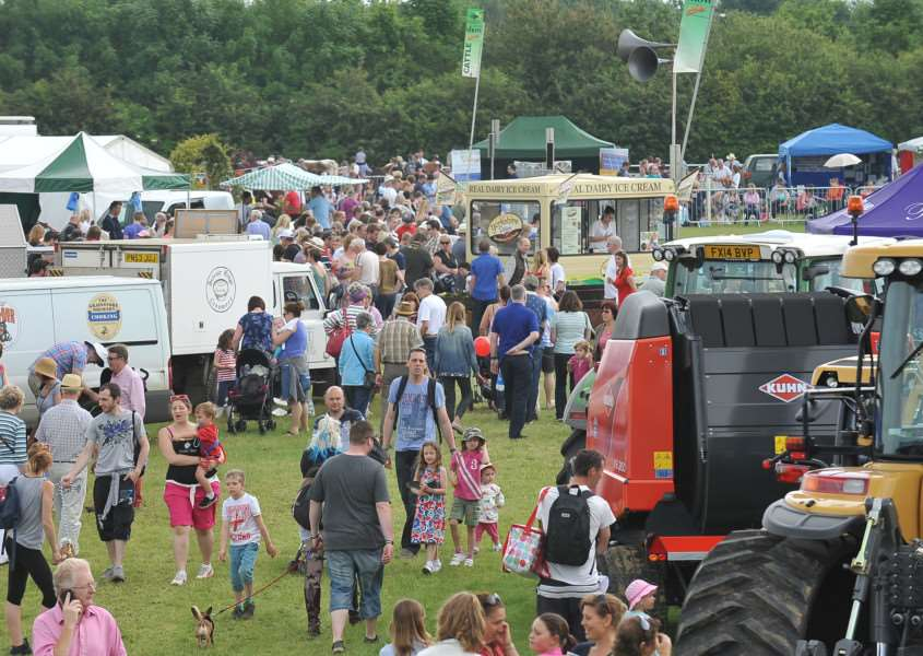 This year's Rutland County Show is taking place this weekend