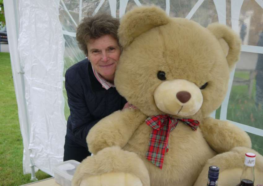 Sally Allen, of Lyddington, at last year's fete. ENGEMN00120130522155106