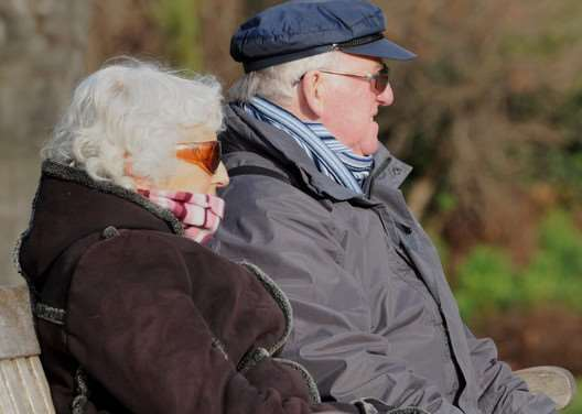 The life expectancy across the UK rose from 75.7 years in 1990 to 81. Photo: PA Wire