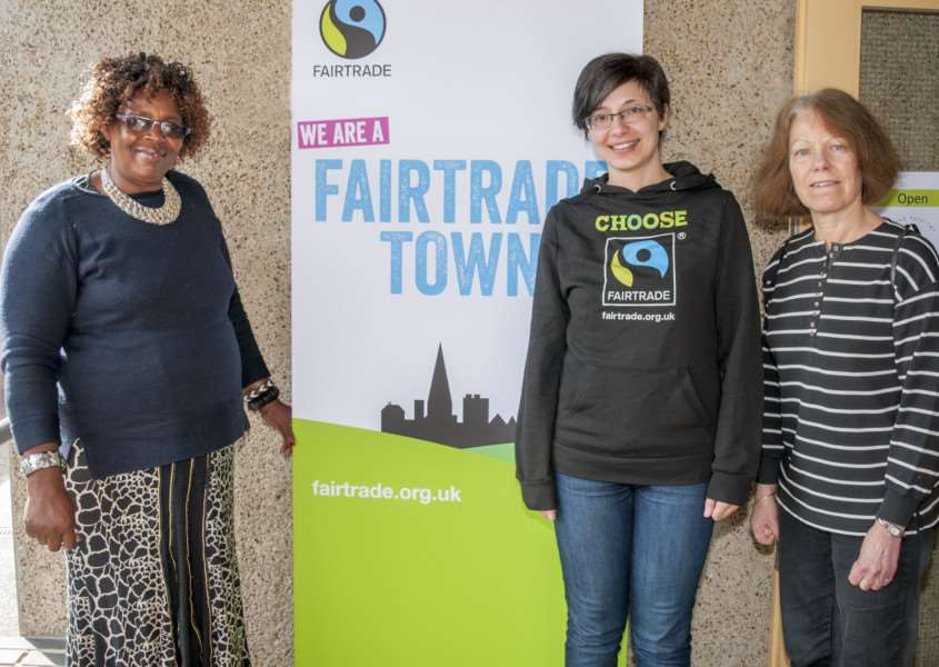 Fairtrade Fortnight is celebrated in Stamford'Photo: Lee Hellwing