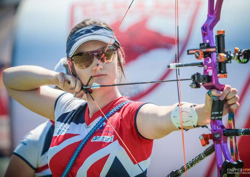 Archery star Abbie Spinks is joining accountants Moore Thompson.