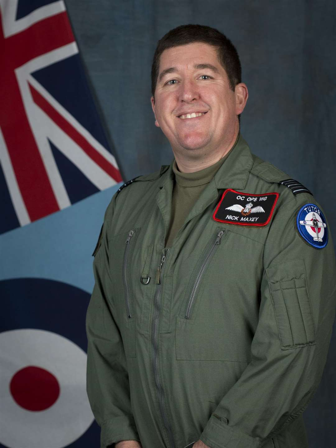 Wing Commander Nick Maxey (4678700)