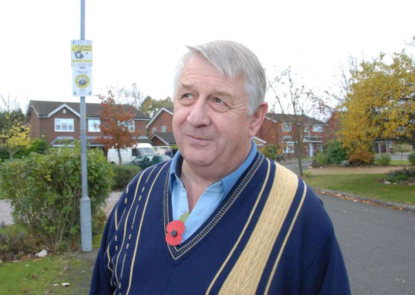 Philip Knowles, chairman of Bourne and District Neighbourhood Watch Association. Photo: SG08112-112TW. www.spaldingtoday.co.uk/buyaphoto ENGANL00120120811184056