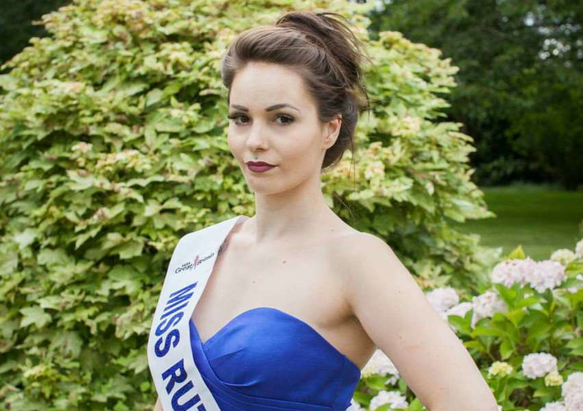 Nikita Azzopardi was crowned Miss Rutland earlier this summer '''PHOTO: Supplied