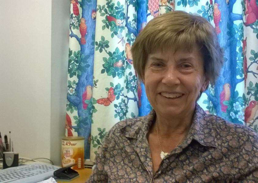 Consultant paediatrician Dr Margaret Crawford MBE.