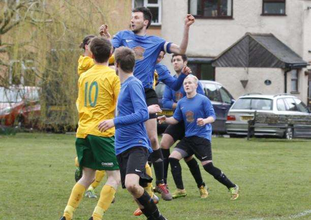 Oakham United beat Uppingham Town in the PDFL Premier. Photo: Geoff Atton EMN-150330-164148001