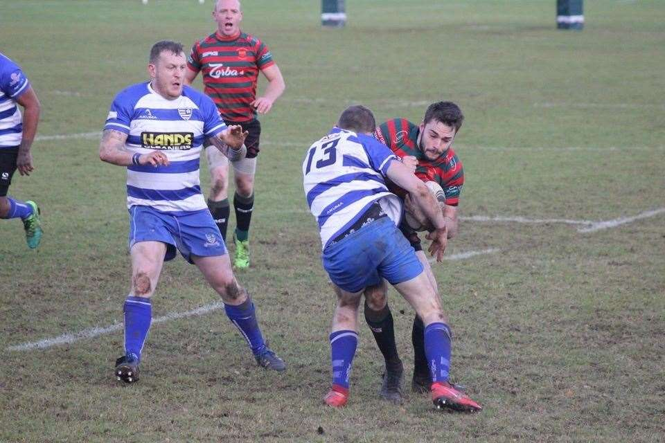 Stamford College Old Boys defeated Aylestone on Saturday. Photo: Ray Bates (24034417)