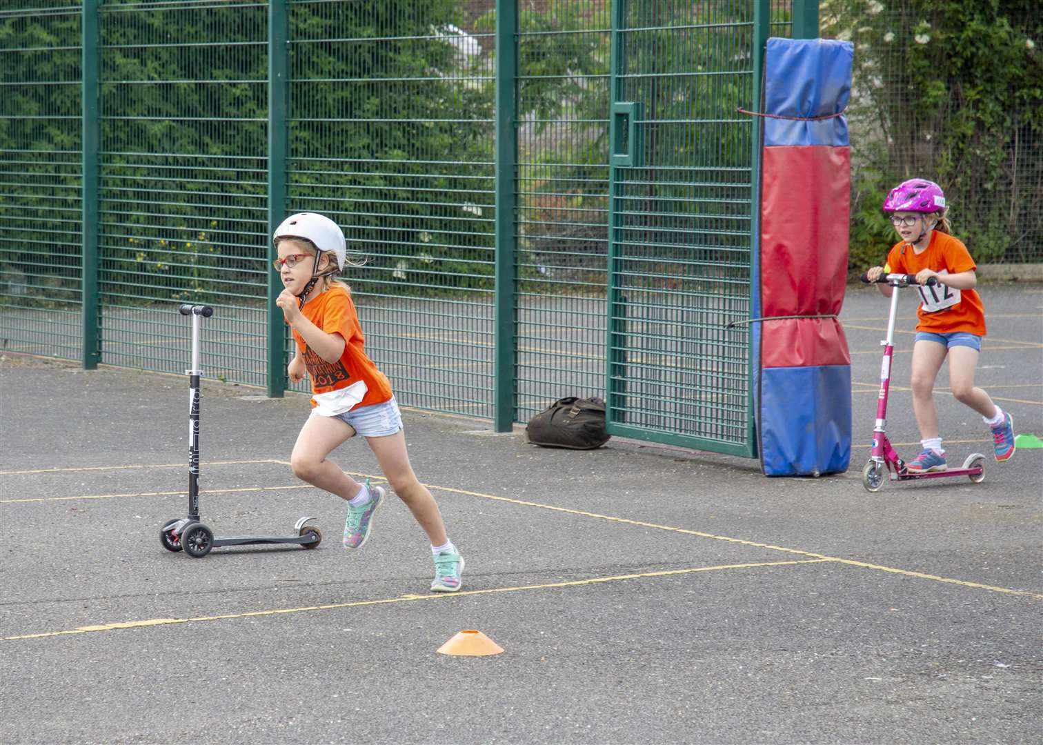 The Stamford Scooterthon took place at the weekend with 131 children from seven primary schools taking part (2584159)