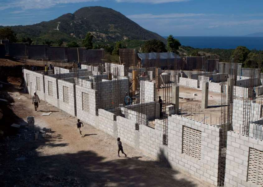 Haiti Earthquake Orphanage. One of the many projects financially assisted by Stamford Methodist Church's Mission Projects Group. EMN-160311-111549001