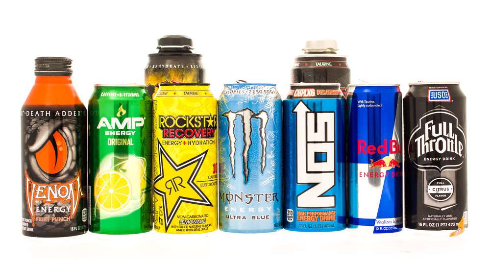 Energy Drink health warning