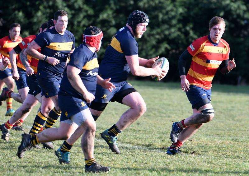 Bourne ran out 43-15 winners against Stockwood Park on Saturday. Photo: Alan Hancock (7085625)