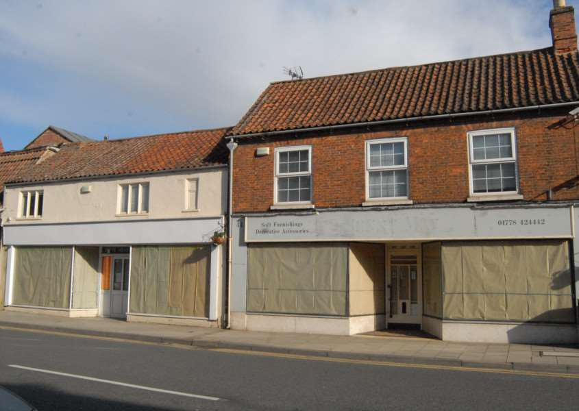 44-48 North Street, Bourne - the site where Wetherspoons plan a new pub
