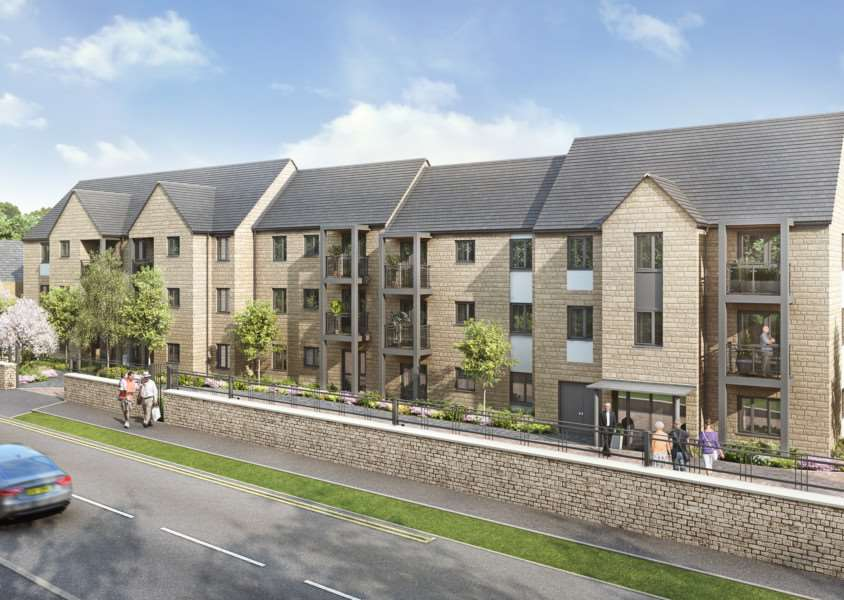 An artists impression of how the McCarthy and Stone retirement complex in Barnack Road, Stamford, will look EMN-150922-112947001