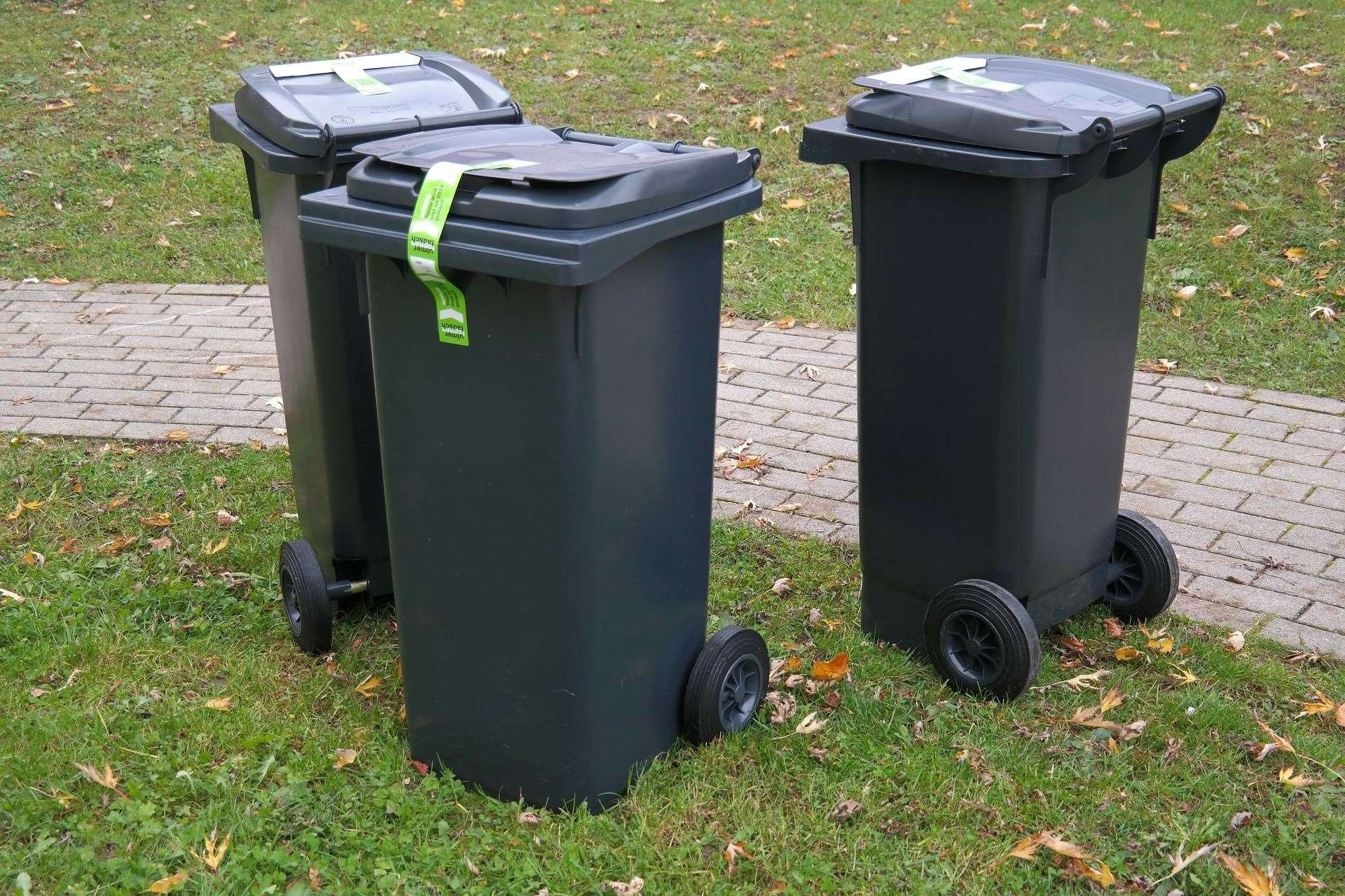 Bins have not been emptied in some areas