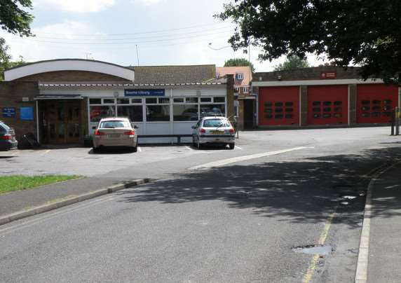 Bourne Fire Station.