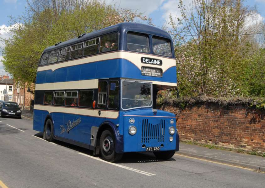Delaine Buses Heritage Running Day - 26-05-15