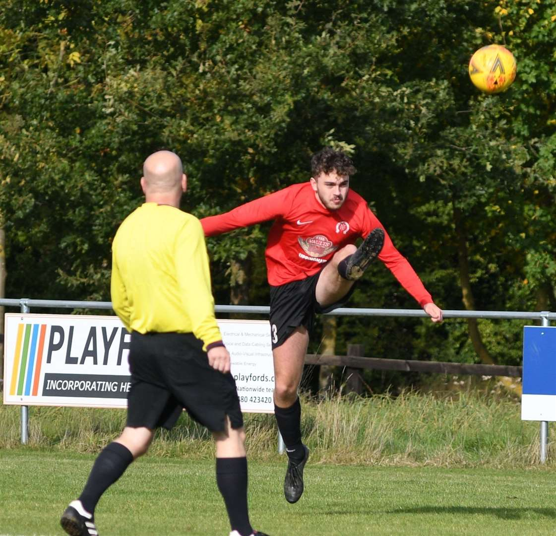 Billy Henshaw had an outstanding game for Uppingham. (31806459)