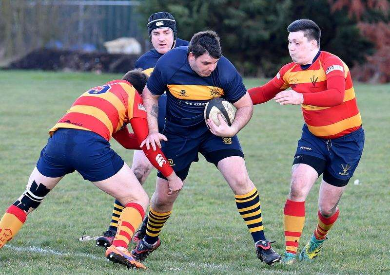 Bourne ran out 43-15 winners against Stockwood Park on Saturday. Photo: Alan Hancock (7085600)