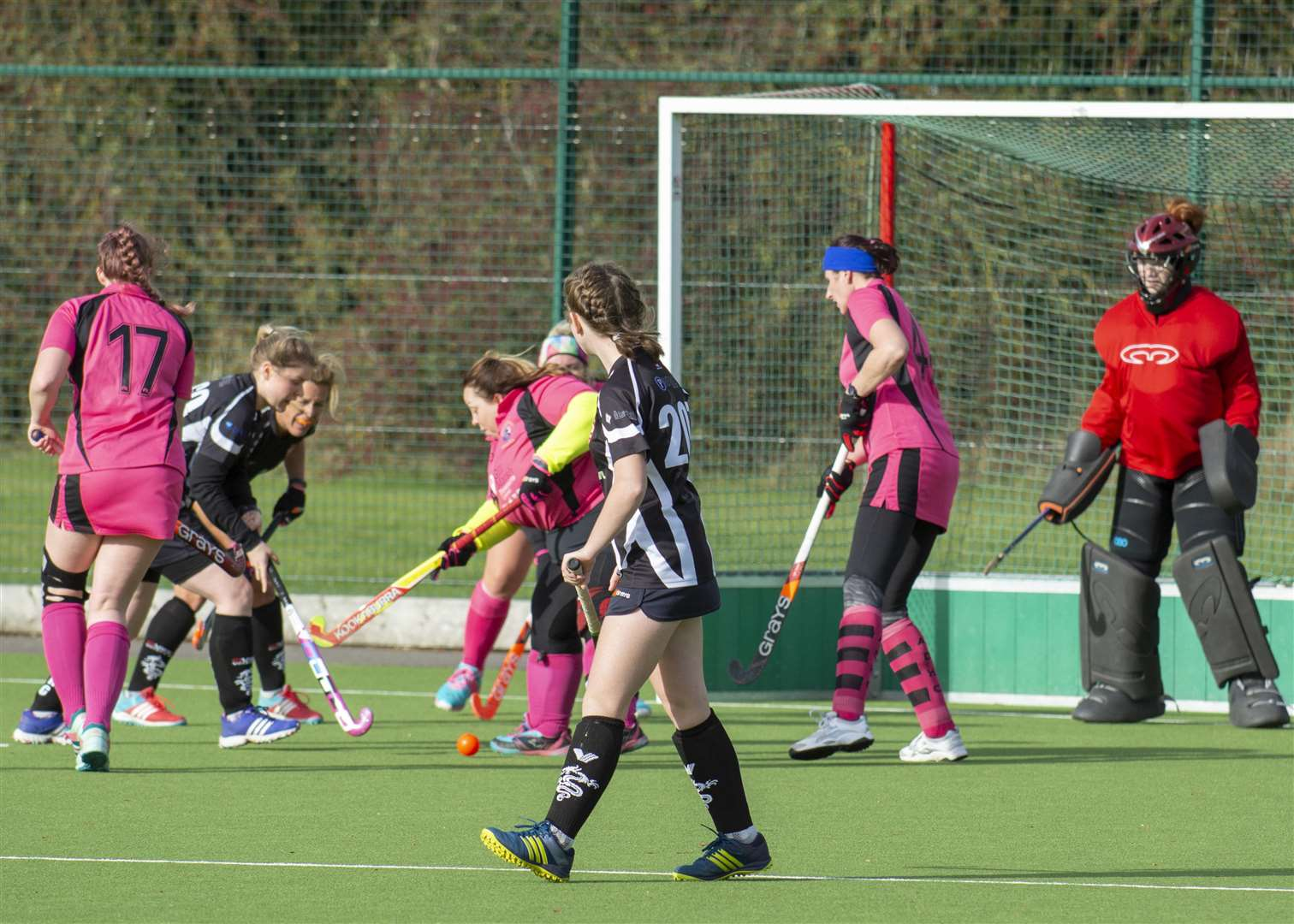 Bourne Ladies 2nds v Alford 2nds. Photo: Lee Hellwing (5305561)