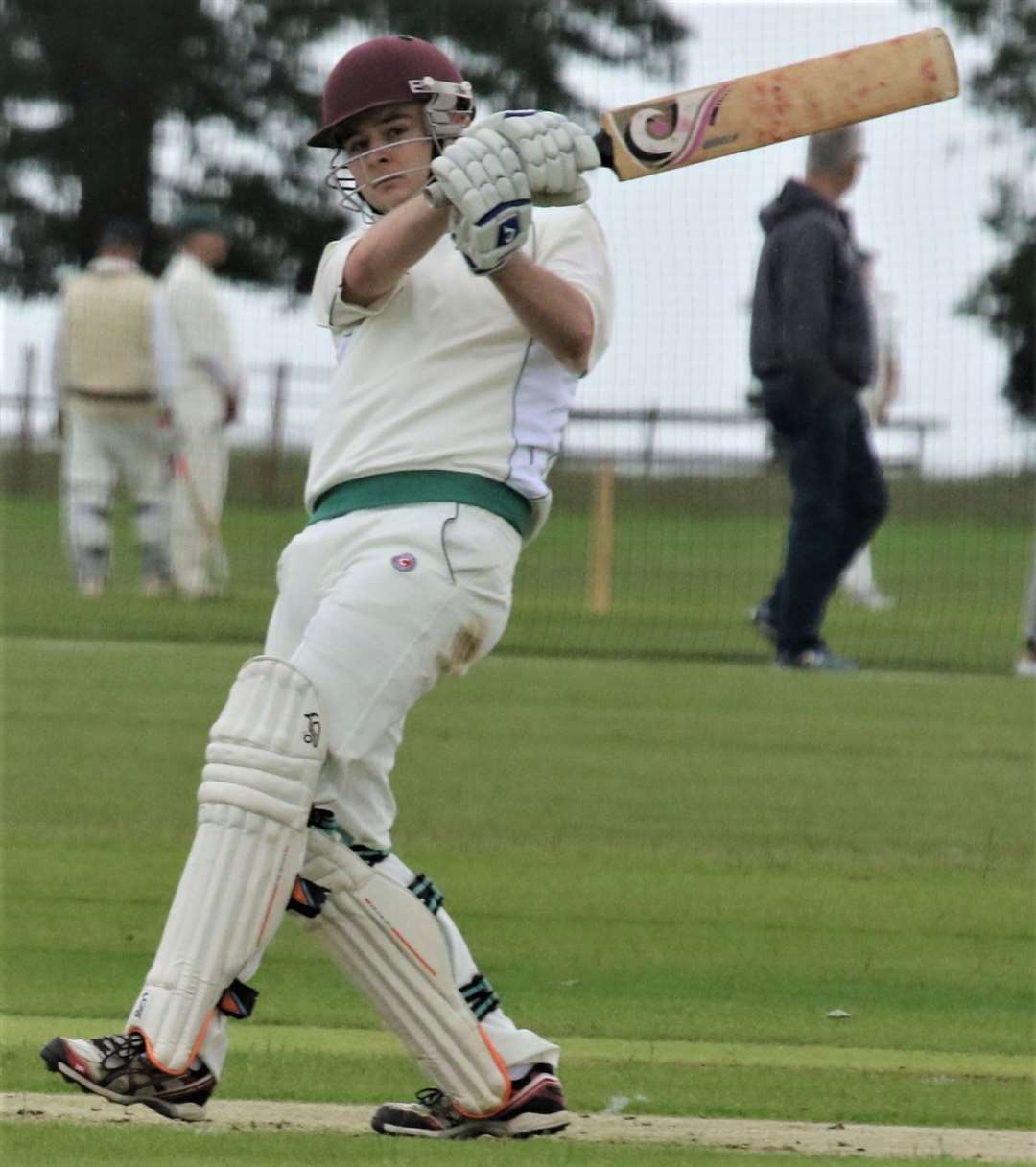 Jamie Richardson top-scored with 42 for Uppingham. (12541757)