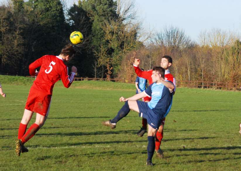 Ketton FC v Sileby Town Reserves in the Leicestershire FA Intermediate Cup. Photo: John Evely EMN-140812-095236001