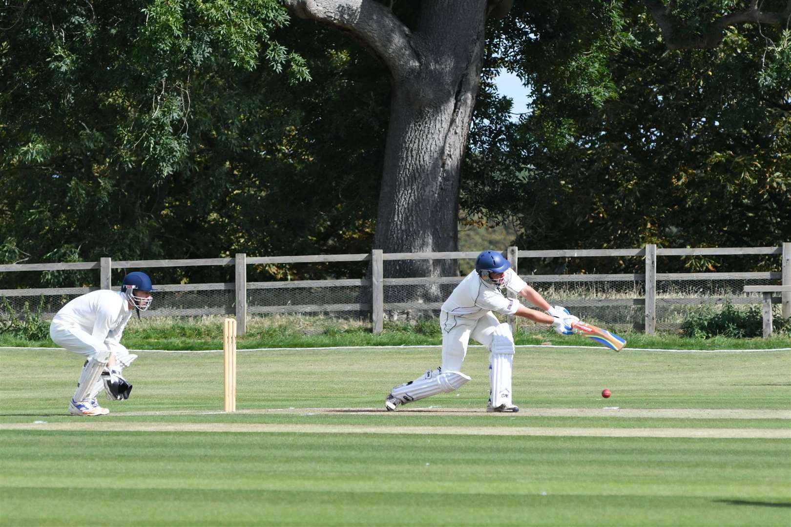 Burghley Park beat Ufford Park to win the Rutland League Division Two title on Sunday. Photo: Alan Walters (16782975)