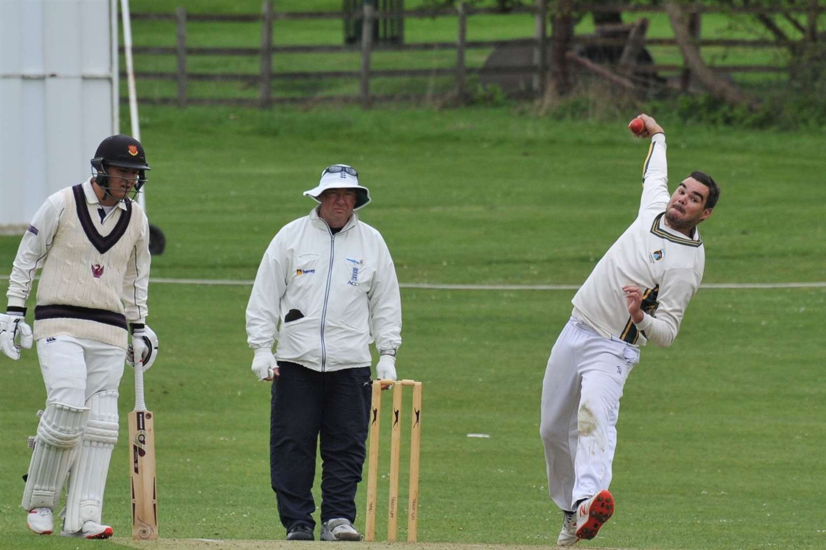 Action from Burghley Park's victory over Uppingham in Division Two. Photo: Alan Walters (9406764)