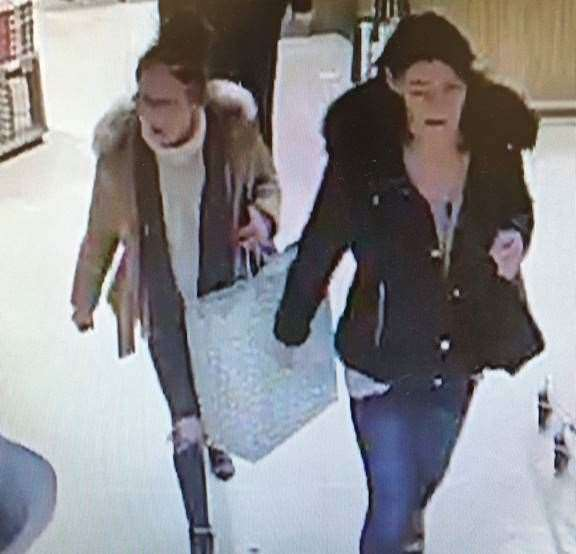 CCTV footage from Waitrose in Stamford in connection to the theft of spirits