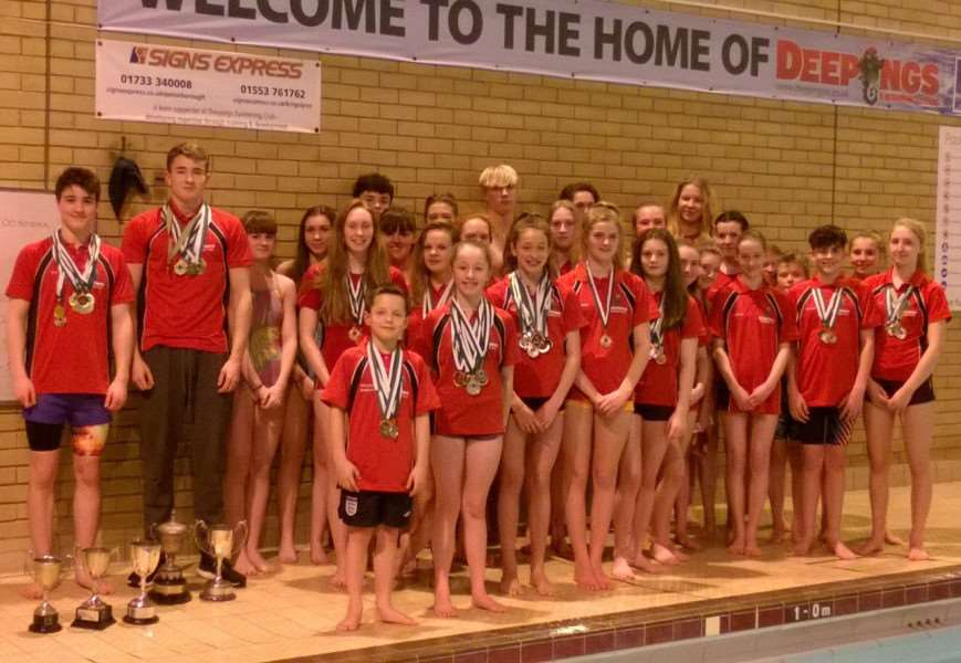 Deepings Swimming Club is raising cash for a new timing board.
